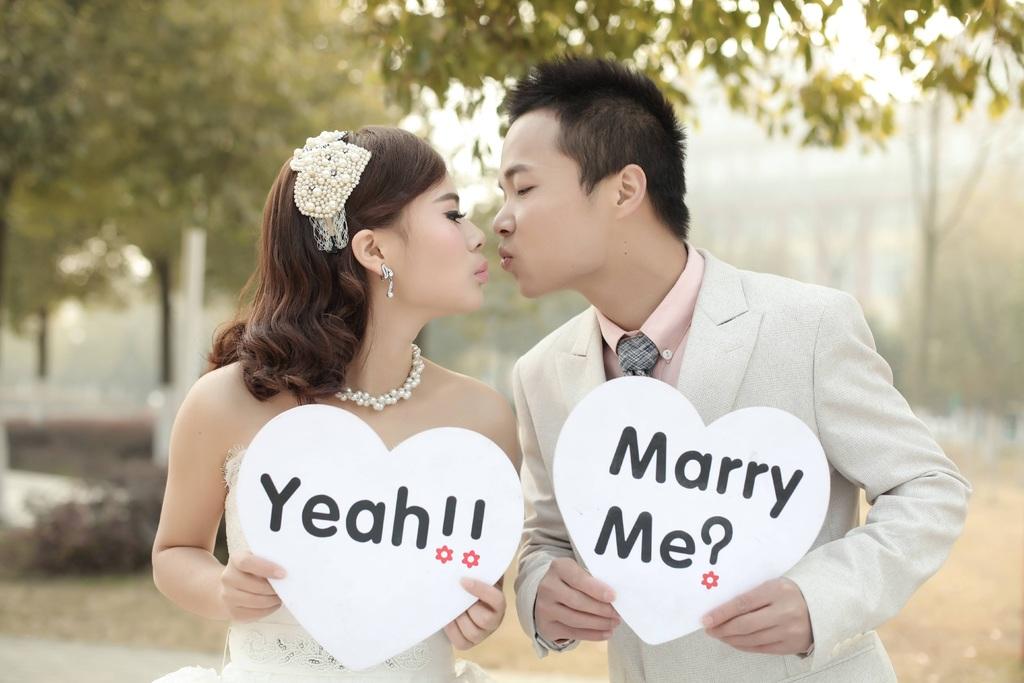 ring trouwen
