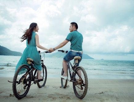 Lekker ontspannen op de fiets
